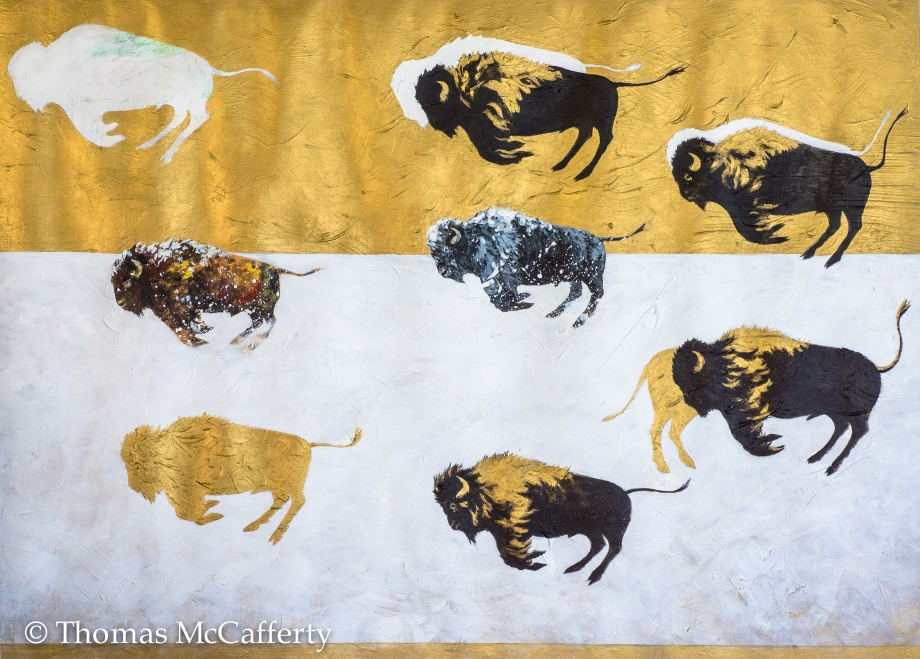black and gold bison (1 of 1)