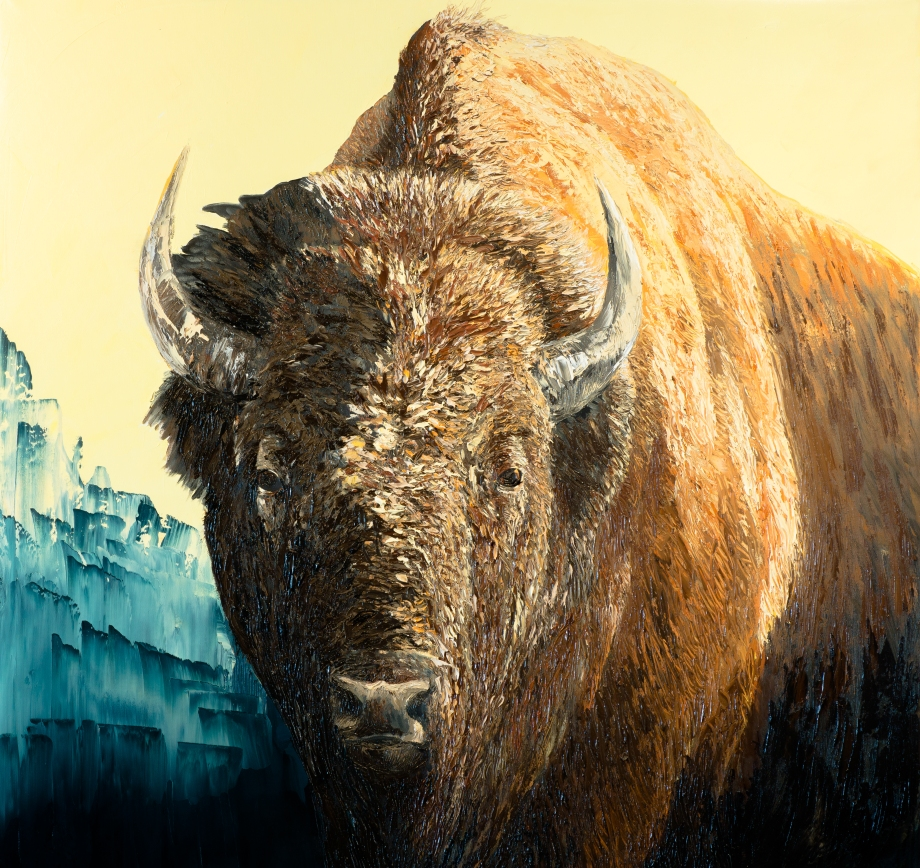 Untitled Bison 1